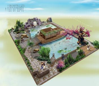 山东生态园设计之邹平生态园设计-生态园酒店、生态餐厅