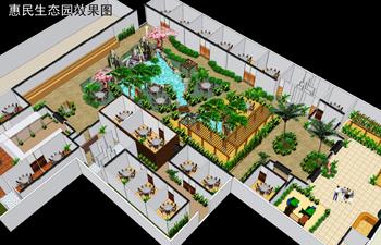 山东生态园设计之惠民生态园设计